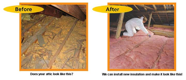 Los Angeles Attic Cleaning Radiant Barrier Attic Fans